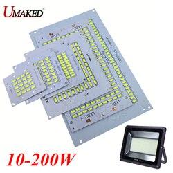 Светодиодная печатная плата SMD5730, 1 шт., 100% полномощная, 10 Вт, 20 Вт, 30 Вт, 50 Вт, 70 Вт, 100 Вт, 150 Вт, 200 Вт, алюминиевая пластина для светодиодного прож...