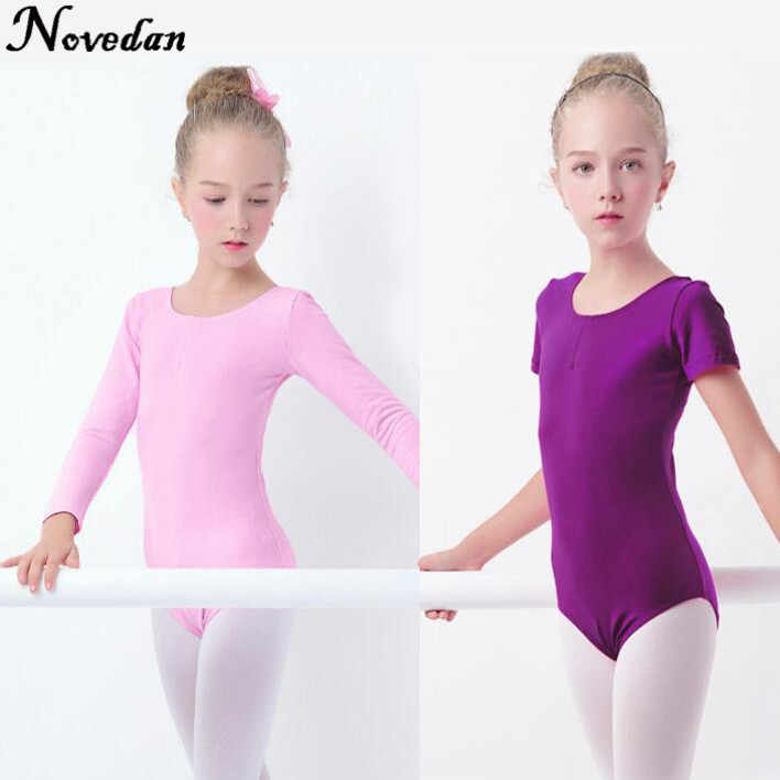 Fall/&Winter Long Sleeve Lycra Cotton Dance Clothes Gymnastics Ballet Clothes