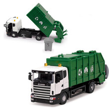 Out of print collection garbage truck Engineering vehicles, 1:43 alloy garbage truck,Diecast cars,Toy Vehicles,free shipping