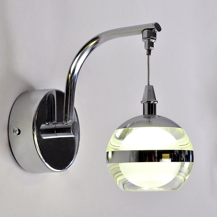 Простой мода современные стены бра творческий акриловые из светодиодов стены для домашнего освещения прикроватные бра интегрированный ла…