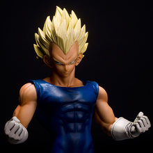 "Frete grátis Brinquedos Anime Dragon Ball Z Super Saiyan Vegeta PVC Action Figure Toy Model Collection 10 ""25CM Juguetes(China)"