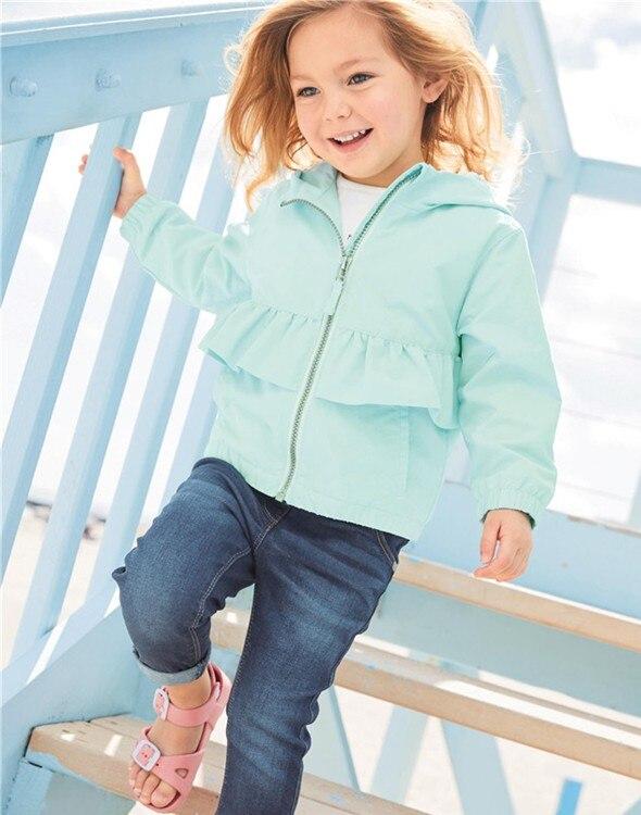 Kid's Autumn Wild Hooded Vest jacket Girl's pink coat