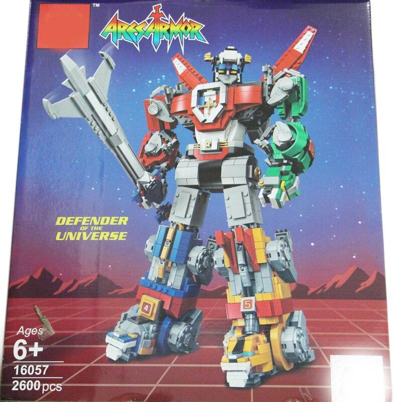 Film matériel serie le Voltron roi Voltron défenseur de l'univers Legoing Set blocs de construction ensemble briques jouets