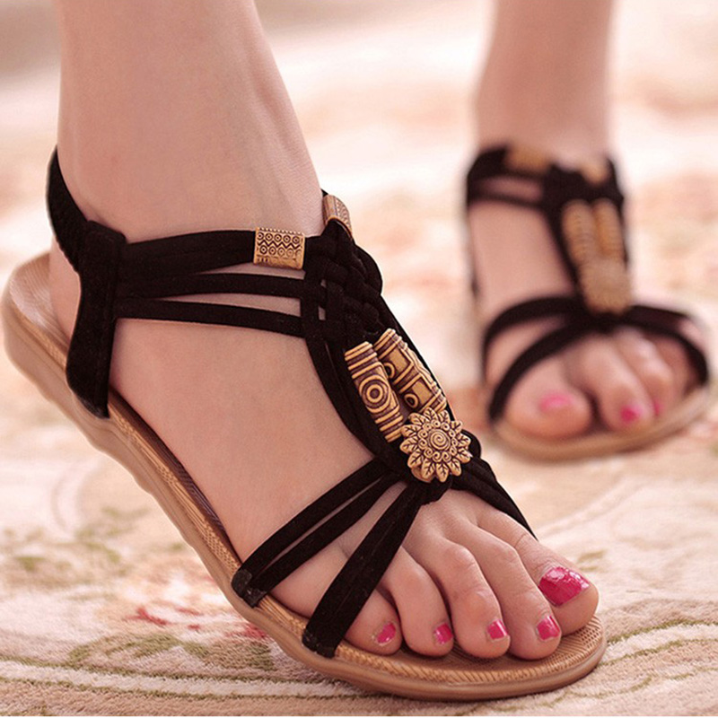 2018 Fashion Women Shoes Sandals Comfort Sandals Summer Flip Flops High Quality Flat Sandals Gladiator Sandalias Mujer suojialun 2018 women sandals plus size 35 41 shoes woman summer fashion flip flops flat sandals gladiator sandalias mujer