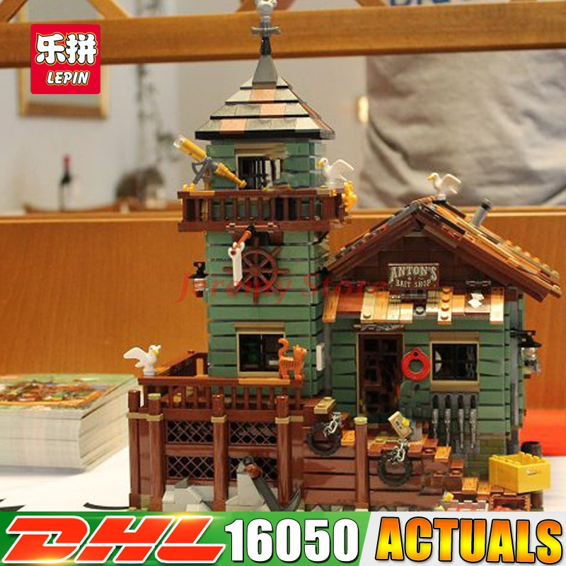 2017 Lepin 16050 Genuine 2109Pcs MOC Series The Old Finishing Store Set 21310 Building Blocks Bricks Christmas Toys Gift managing the store