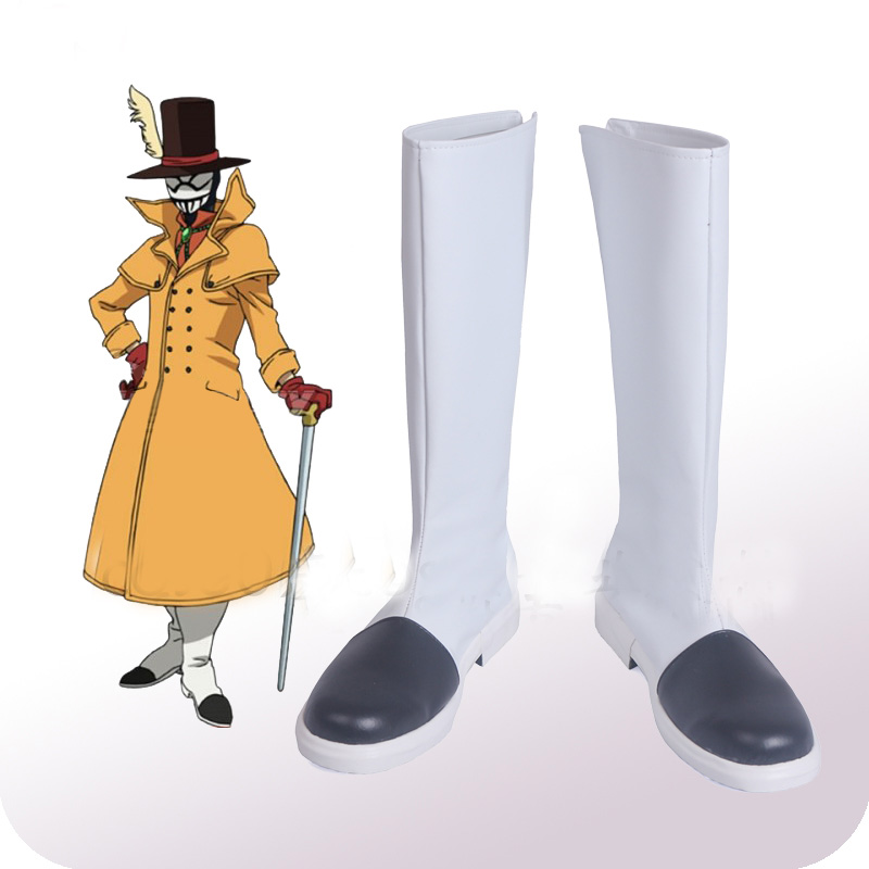 My Hero Academia Boku No Hero Akademia Mr. Compress Atsuhiro Sako Cosplay Shoes Boots Halloween Cosplay Costume Accessories