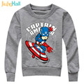 Jiuhehall Kids Hoodies & Sweatshirts Super Hero Active Hoodies For Boys Cotton Long Sleeve Children Pullover Costume HCM020