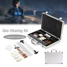 Universal Gun Cleaning Tool Kit with Carry Case 106 Pcs Set