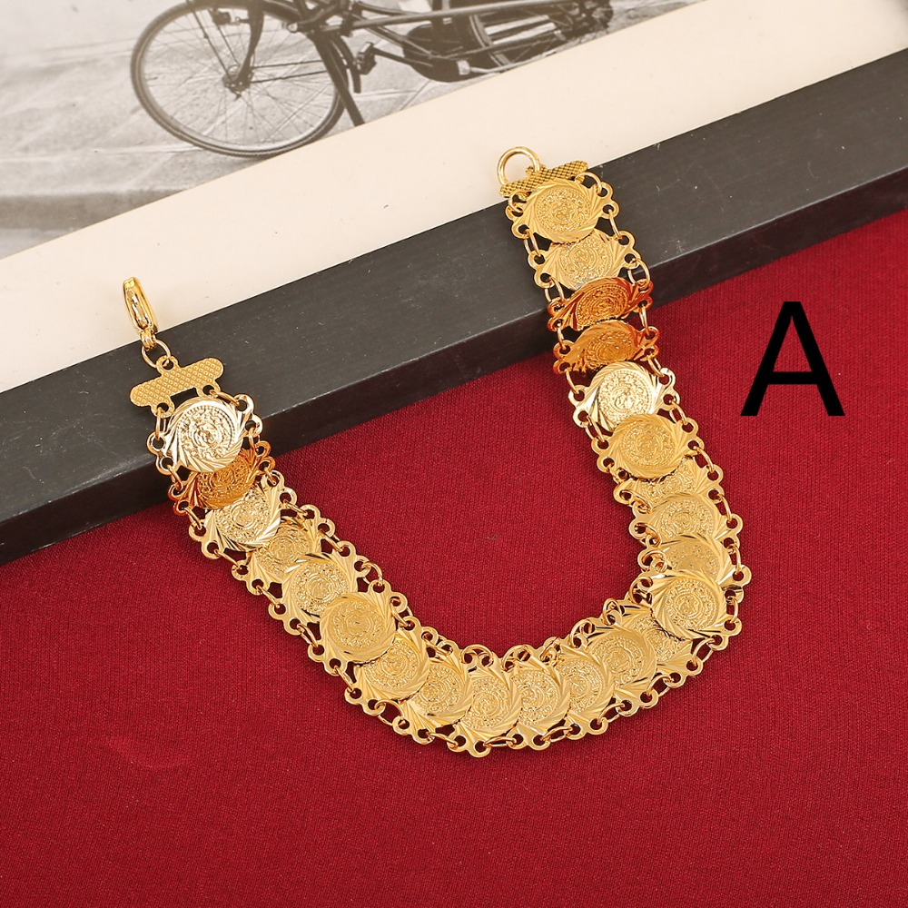 Dubai Gold Color Jewelry For Women Gift