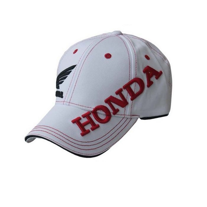 Free Shipping Wholesale Letter Embroidery HONDA Blue Black White Racing Cap  Magic Stick Adjustable Sport Baseball Motorcycle Cap-in Baseball Caps from  ... 09bbf572b47