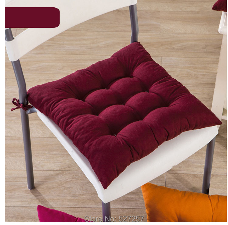 Home Garden Outdoor Car Sofa Pads Square Soft Cotton Seat