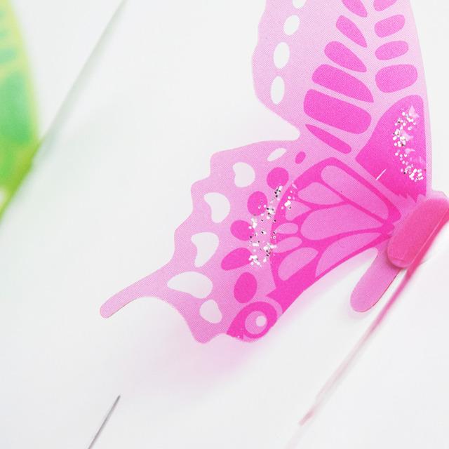 3D Butterflies DIY home decor wall stickers (18Pcs) for kids room