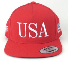 2017 новый США Козырь 45 Инаугурации Президента Красной бейсболке Лицевой Стороне Вышивки snapback hat(China (Mainland))