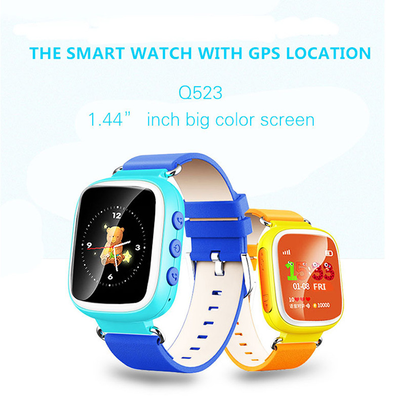 Kids GPS tracking SOS Call Safe Finder Locator Anti Lost Monitor Smart Watch 1.44 Inch Touch Screen Wristwatch For Children Q70 wireless service call bell system popular in restaurant ce passed 433 92mhz full equipment watch pager 1 watch 7 call button