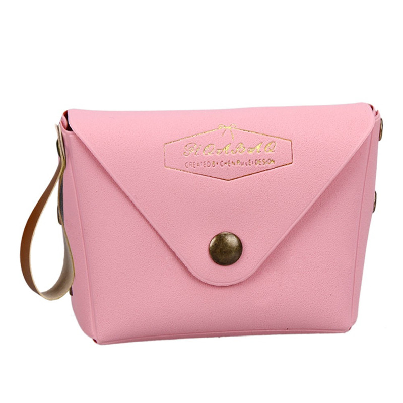 Attractive sheer PVC Leather Coin Purse Plush Cute Small Change Student Macaron Bow Serie Change Purse Mujer womens