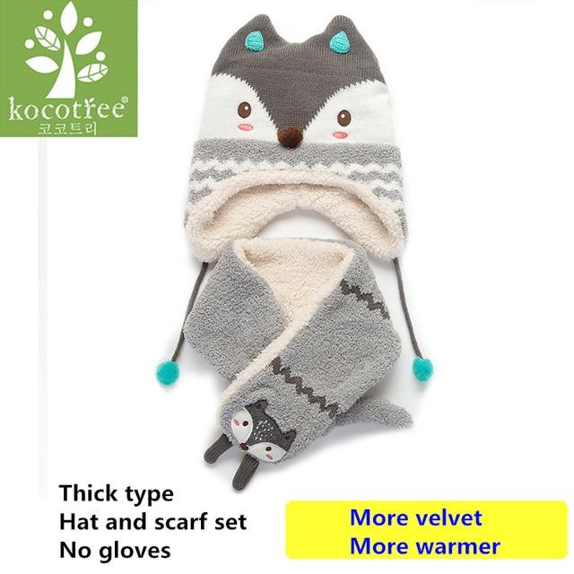 d323fdfa8b3 Товар Kocotree 2pcs lot Baby Winter Hat   Scarf Baby Winter Cap ...
