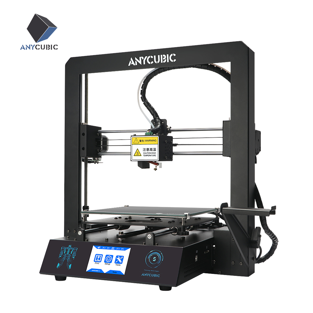 ANYCUBIC Mega S Newest 3D Printer Plus Size High Quality Extrude TFT Touch Color Screen Desktop