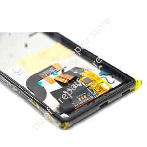 Image 4 - Für Sony Xperia M5 LCD Display + Touch Screen + Rahmen Digitizer Montage E5603 E5606 E5653 Für SONY M5 LCD ersatz Teile