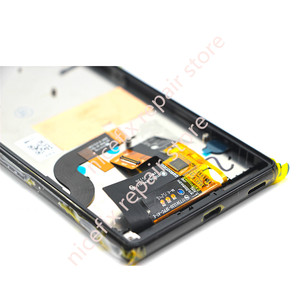 Image 4 - For Sony Xperia M5 LCD Display + Touch Screen + Frame Digitizer Assembly E5603 E5606 E5653 For SONY M5 LCD Replacement Parts