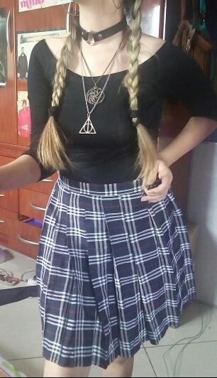 HTB1vGIKKpXXXXc XXXXq6xXFXXXq - Checkered Skirt Woman PTC 63
