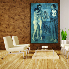 Life By Pablo Picasso Wall Art Canvas Poster And Print Oil Painting Decorative Picture For Office Living Room Home Decor