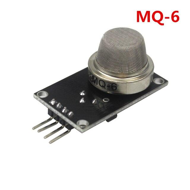 MQ6 MQ 6 MQ-6 Smoke Liquified Flammable Methane Gas Sensor Module for arduino Diy Starter Kit