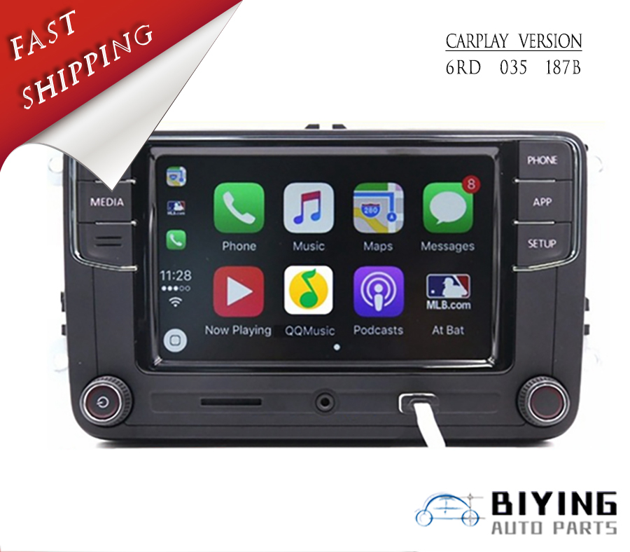 Carplay Desai RCD330 Plus 6.5 MIB Radio Pour Golf 5 6 Jetta MK5 MK6 CC Tiguan Passat Polo 6RD 035 187 B 6RD035187B Mirrorlink 1g