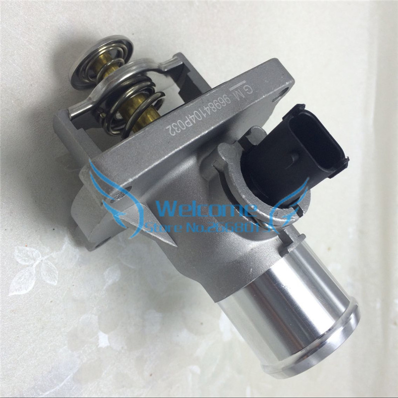 Engine Coolant Thermostat Assembly 96984104 For Chevrolet Cruze Aveo Pontiac G3 epica Opel Astra Zafira Signum Vectra 55578419