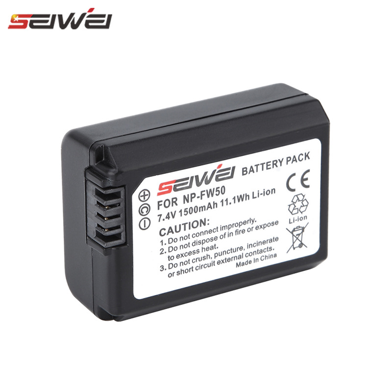 NP-FW50 Камера Батарея аксессуары NP FW50 для SONY A5000 A5100 A6000 A6300 A6500 A7R2 A7M2 NEX5 5R 5N A7 NEX6 NEX7 NEX5R NEX5N