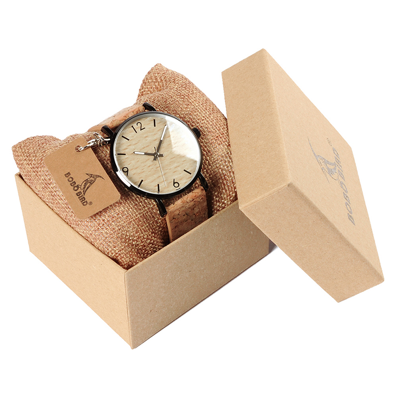 BOBO BIRD Women's Vintage Design Brand Luxury Wooden Bamboo Watches Ladies Watch With Real Leather Quartz Watch in Gift Box 6