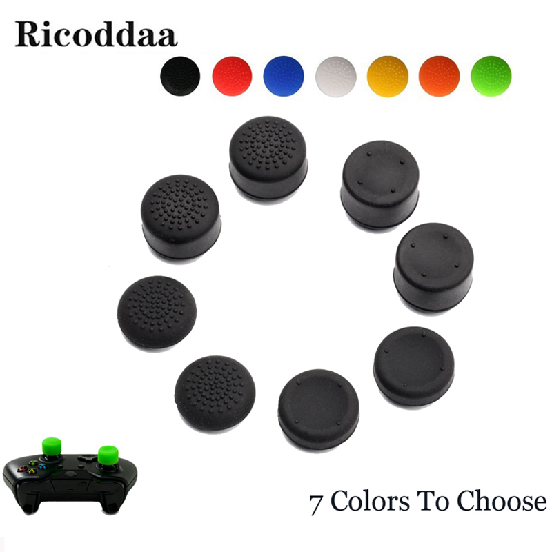 Controller Silicone Analog Grips Thumbstick Cover For PS3/PS4 Thumb Grip For Sony Playstation 4 PS4 Pro Slim Replacement Parts