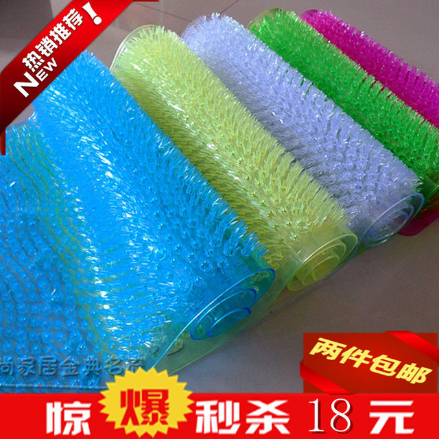 bagno tappetini antiscivolo massaggio vasca da bagno stuoia pvc ...