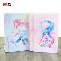 M&G New wholsale kawaii metal bookends for school supplies cute comic pattern book holder desk support quality office stationery