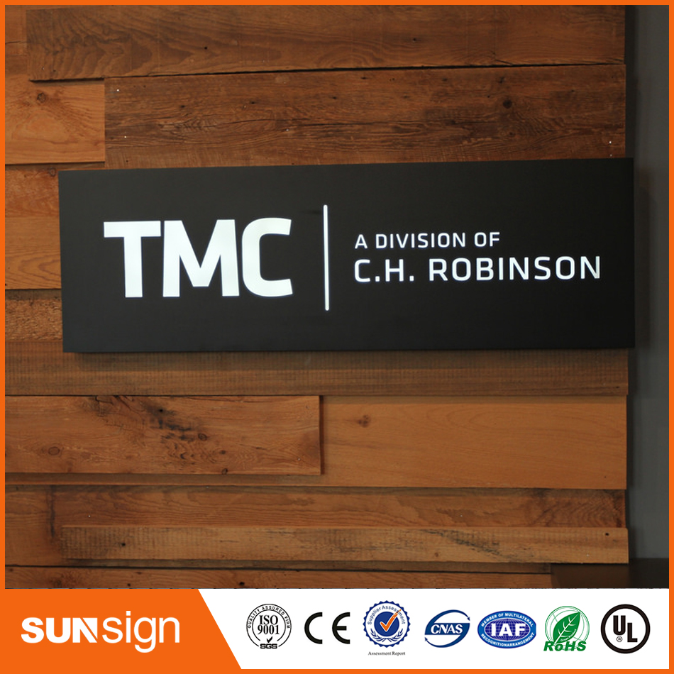 Custom Made New Style Advertising Led Shop Name Board 3d Lighting