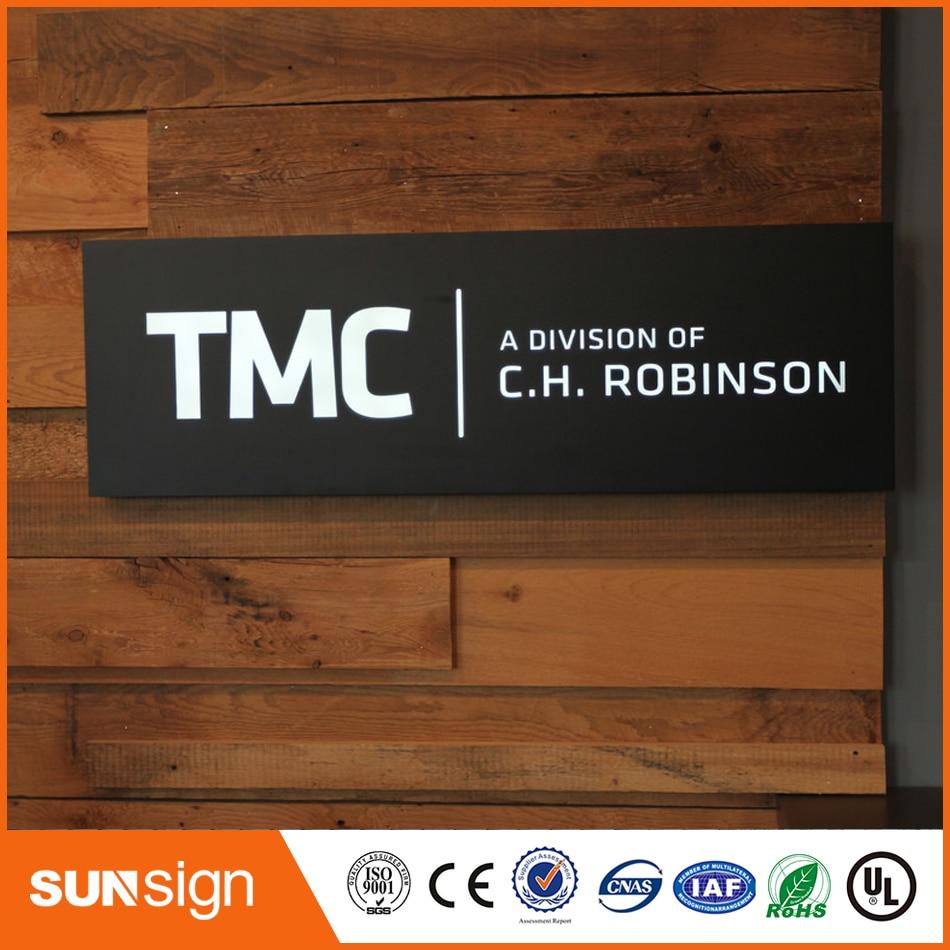 Custom Made New Style Advertising Led Shop Name Board 3d Lighting