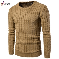 New Mens Sweaters 2018 Fahsion O Neck Autumn Winter Sweater Men Pullover Long Sleeve Casual Men Jumper Sweater Fashion Clothes