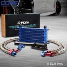 10Row Масляный Радиатор Набор Для BMW F30 F35/N20 316 320 N13 F31 F34 328 Turbo AN10 SL