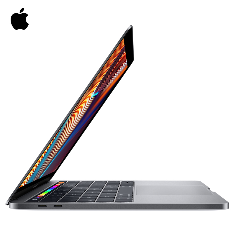 2019 2.4GHz Quad-Core Apple MacBook Pro 13.3 inch laptop notebook 256G Touch Bar with integrated Touch ID sensor convenient image