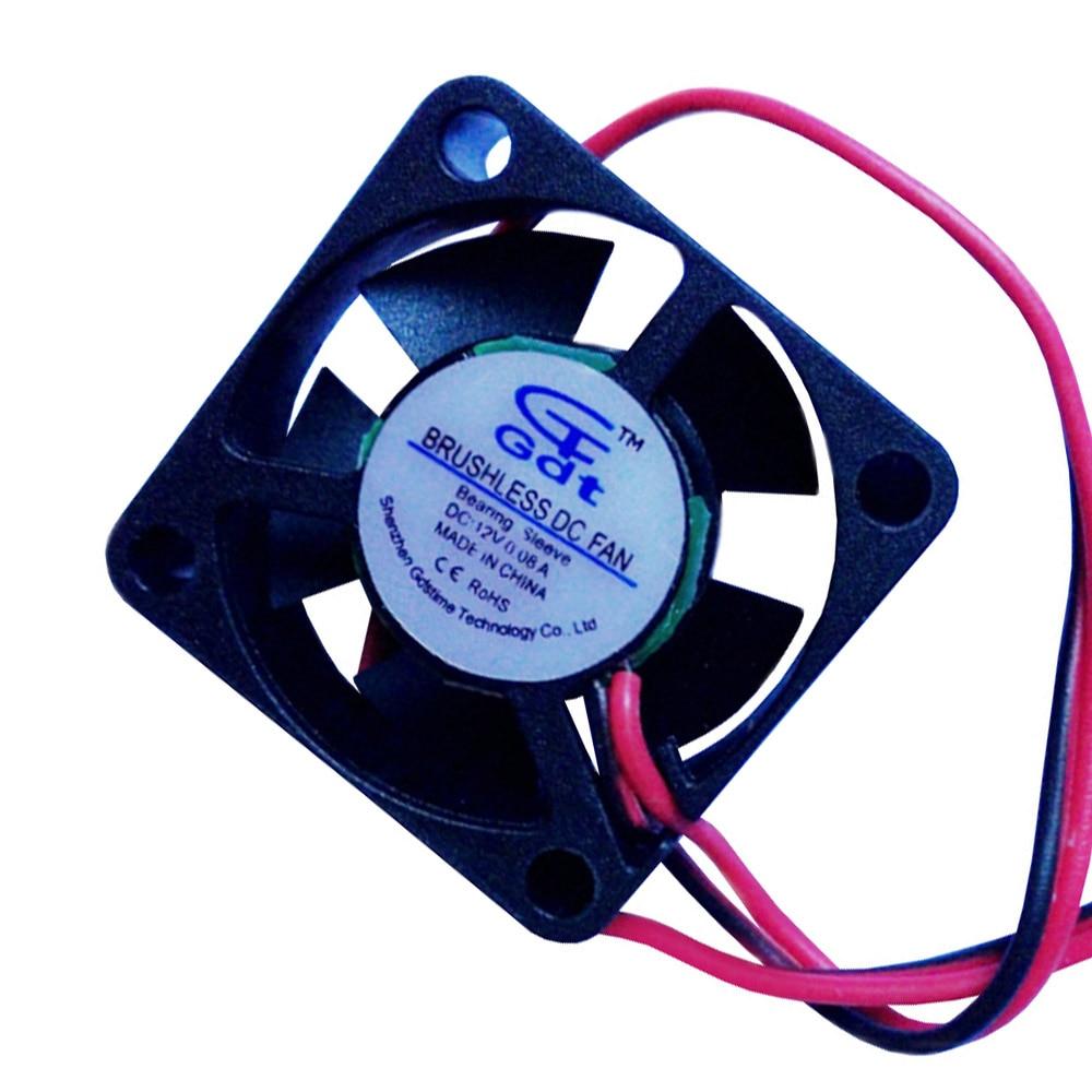 RC 1: 8 1:10 CC sin escobillas que se enfrían DC12V 0.08A JST Conector 30 * 30mm Para HSP