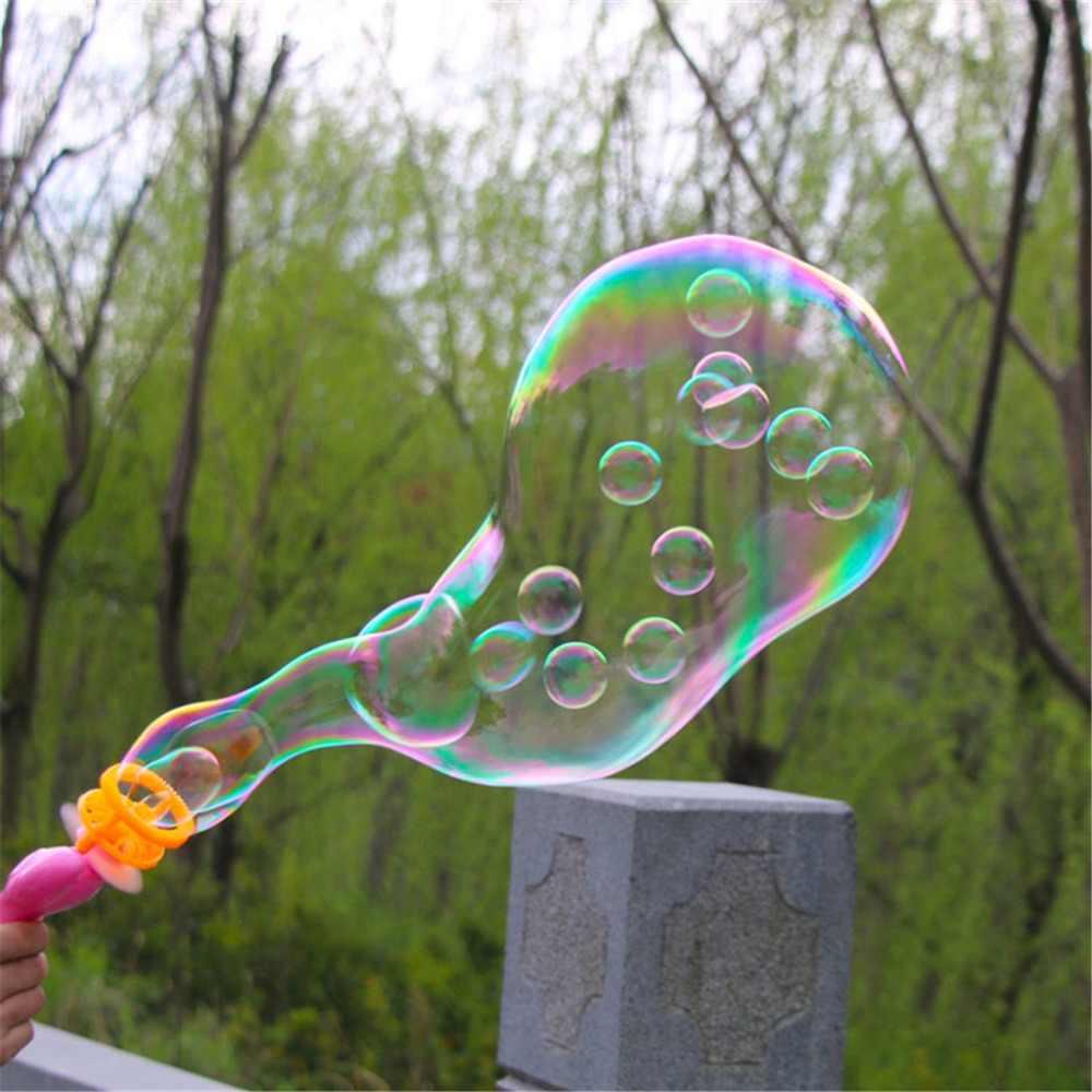 3IN1 Bubble Blower Mesin Mainan Anak-anak Air Sabun Bubble Gun Musim Panas Kolam Hadiah Mainan Anak