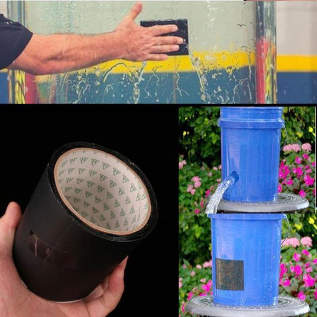 Flex Tape Rubberized Waterproof Seal