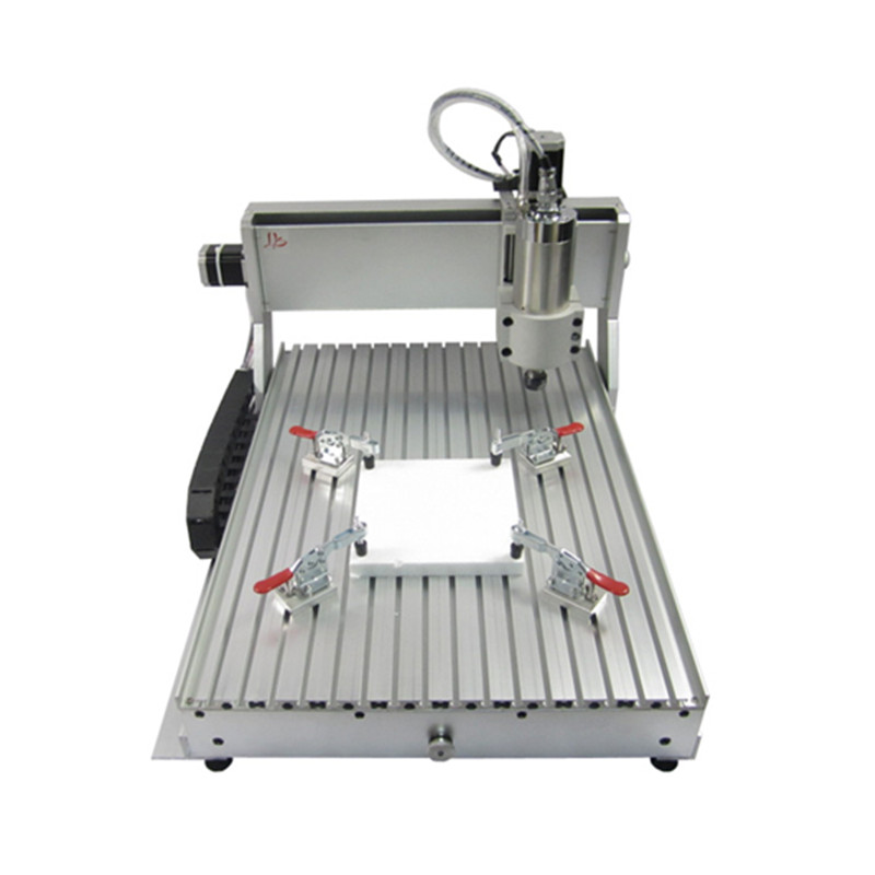 Fin de course CNC Machine de gravure vis à billes 800 W 6040 routeur forage fraisage - 3