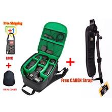 Digital Dslr camera photo bag lens case Photographer waterproof national geographic video double shoulder backpack bag pack