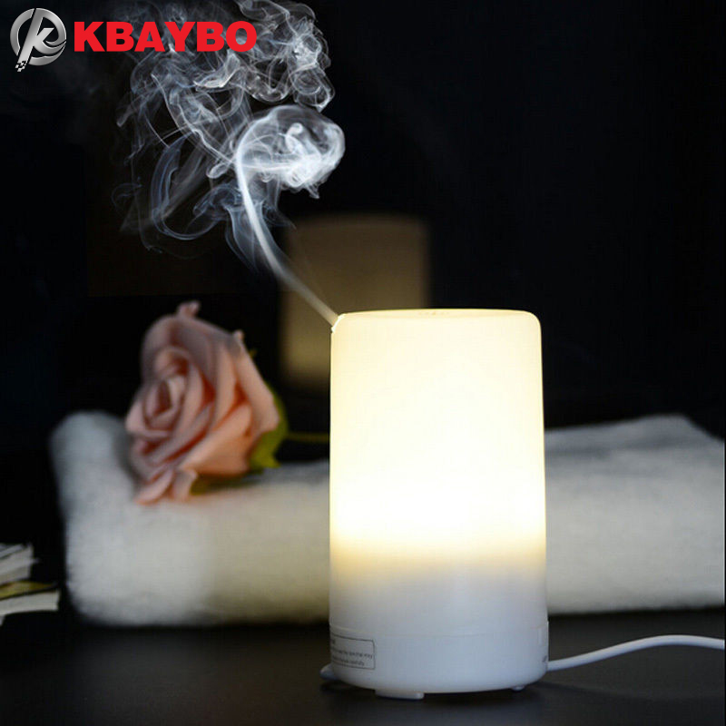 USB Essential Oil Diffuser Ultrasonic Humidifier Portable Aromatherapy Diffuser,Car Aroma Diffuser Mist Color Changing LED Light hot sale humidifier aromatherapy essential oil 100 240v 100ml water capacity 20 30 square meters ultrasonic 12w 13 13 9 5cm