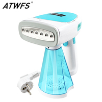ATWFS Mini Handheld Portable Garment Steamer Travel Electric Steam Brush Iron for Clothes Ironing Machine Home Appliances