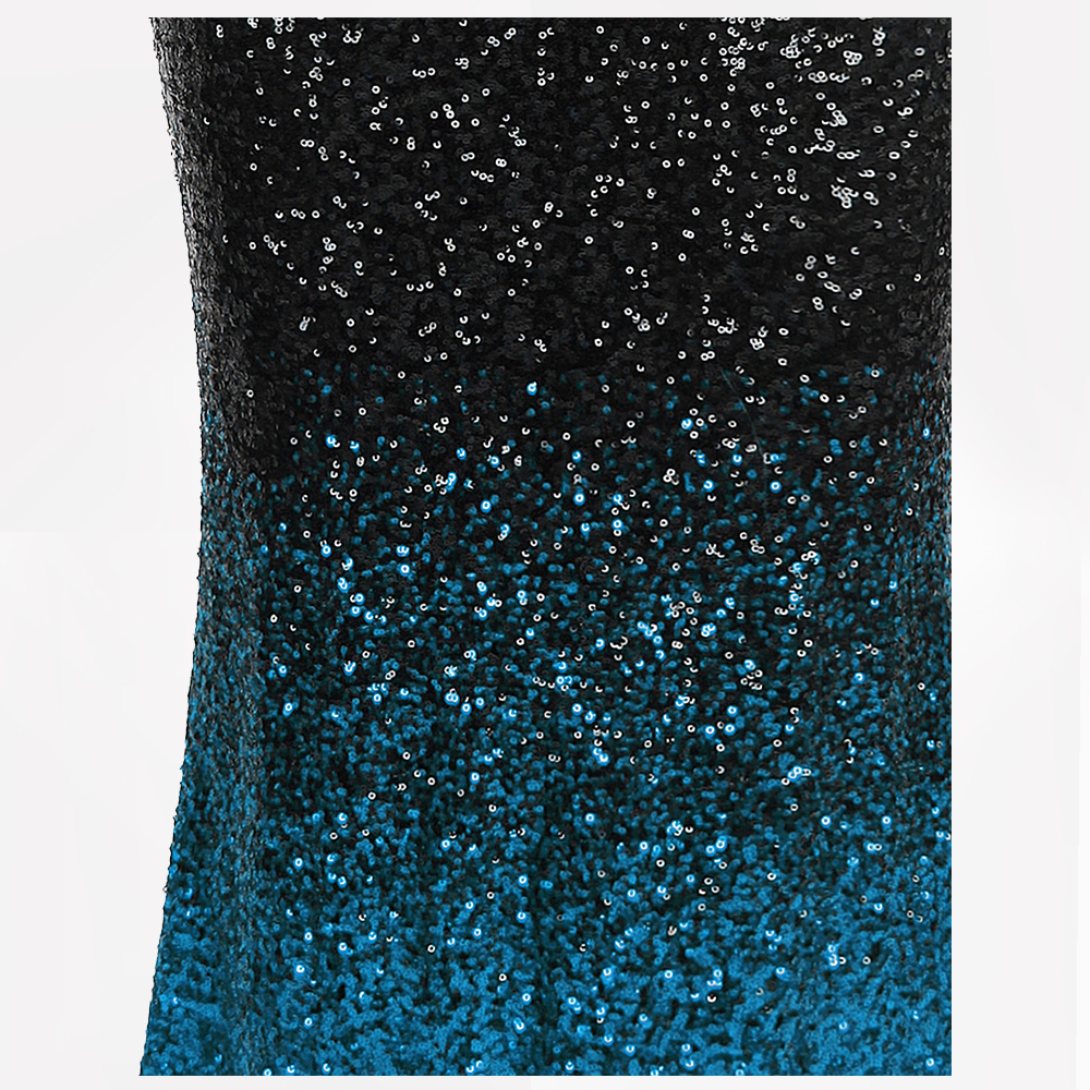 42e120c8edf Angel fashions Women s Sparkly Contrast Color Sequin Gradient Flapper  Mermaid Prom Dress 382-in Prom Dresses from Weddings   Events on  Aliexpress.com ...