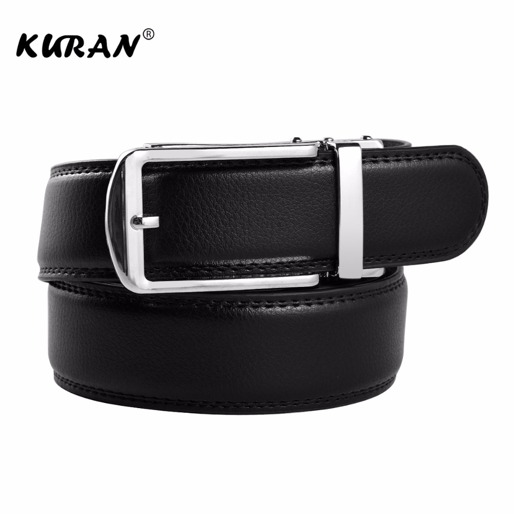 New arrival men automatic buckle brand designer leather   belt   business   belt   mens strap high quality and luxury cummerbund