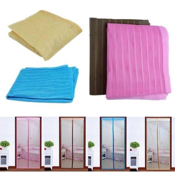 pc novo anti insect fly bug mosquito rede de malha de tela cortina de porta cortina m