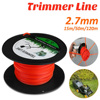 Agriculture Brushcutter Nylon Rope Tools  Wire Lawn Accessories Square 15 50 120m Grass Cutting Garden Trimmer Line 2 7mm promo