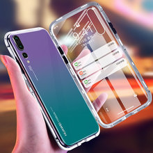 2019 Luxury 360 Degree Magnet Case On The For Huawei P20 Pro P20 Shockproof Phone Cover For Huawei P20 Lite Glass Bumper Case(China)